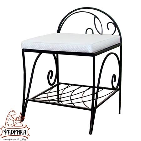 Кованая мебель для дома Банкетка 302-32
