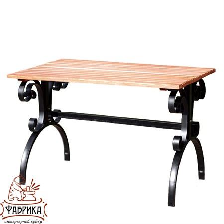 Кованый садовый стол 881-63