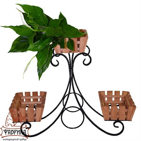 Садовая подставка для цветов 59-753