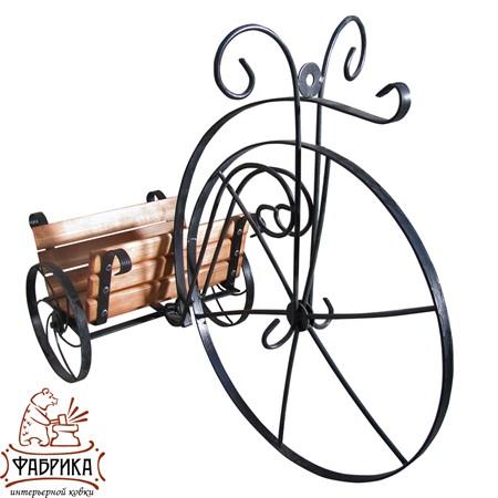 Подставка для цветов Велосипед 59-340