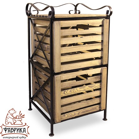 Ящик для хранения деревянный 895-13