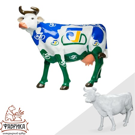 Фигура Корова для сада