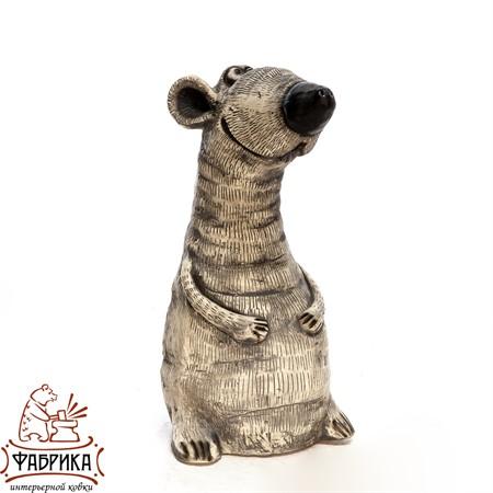 Фигура садовая Крыса