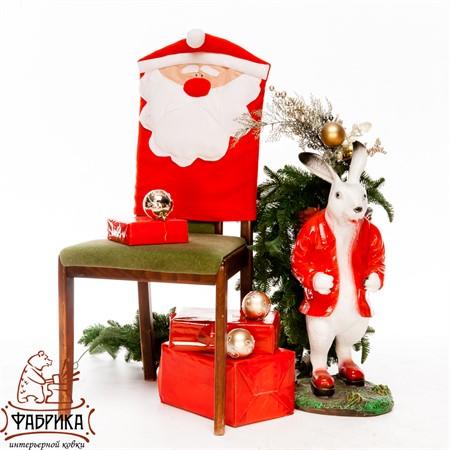 Чехол для стула Дед Мороз - фото 20080