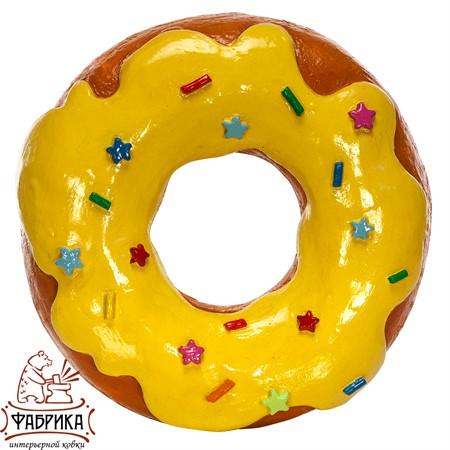 объемная фигура пончик с глазурью