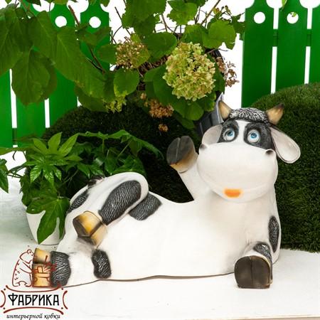 Садовая фигура корова