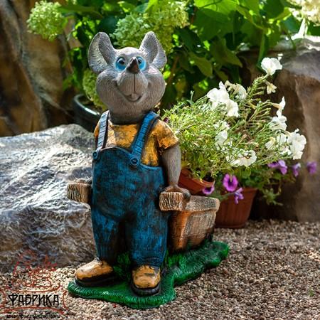 Кашпо для цветов Крыса