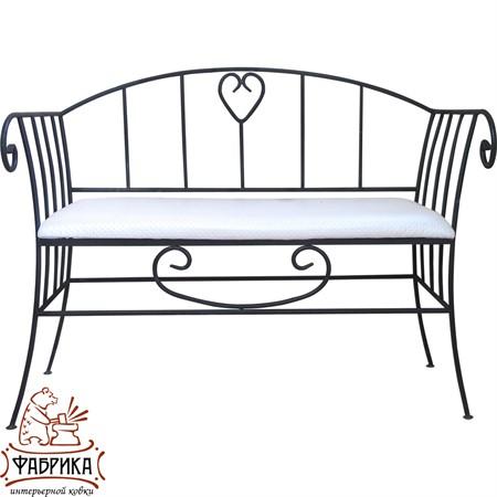 Кованый диван для дома