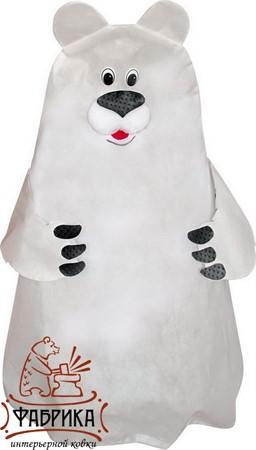 Декоративный колпак Белый медведь