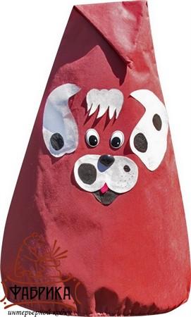 Собачка колпак декоративный