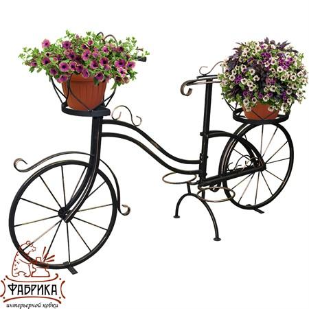 Подставка для цветов Велосипед 53-650R