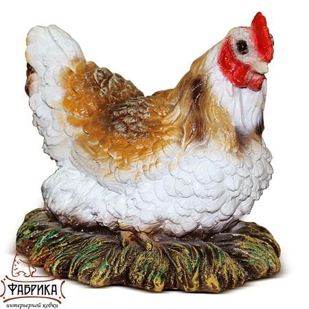 Садовая фигура Курица в гнезде