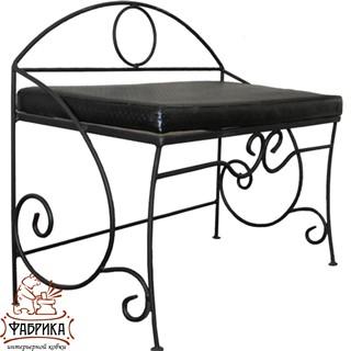 Кованая мебель для дома Банкетка 302-01
