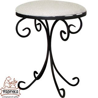Кованая мебель для дома Табурет 302-37