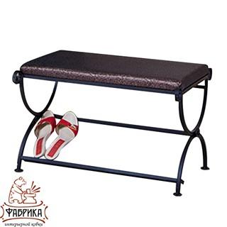 Кованая мебель для дома Банкетка 303-02