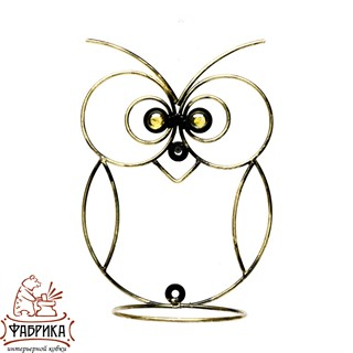 Настенная подставка сова