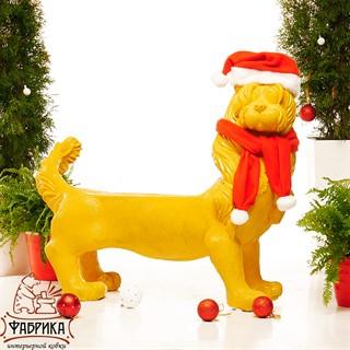 Новогодняя фигура Собака