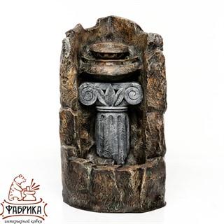 Фонтан колонна античная