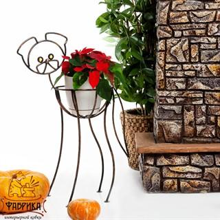 Декоративная подставка для цветов