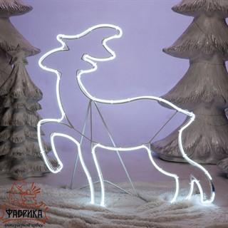 Светящаяся фигура олень