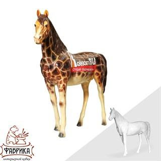 Рекламная фигура конь