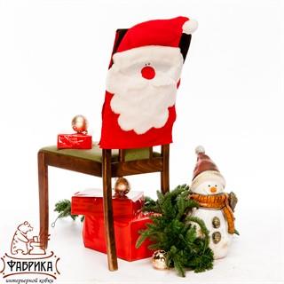 Чехол для стула Санта Клаус