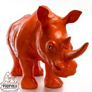 рекламная фигура носорог
