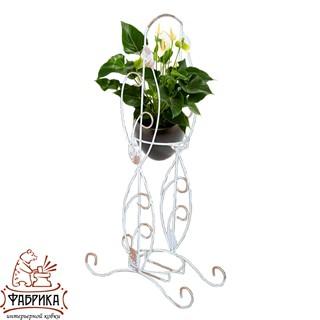 подставка для цветов на подоконник на два цветка 14-962