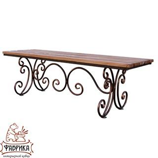 Кованая скамейка 881-08