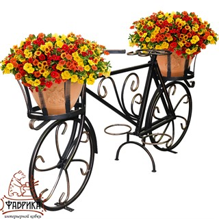 Подставка для цветов Велосипед 53-652R