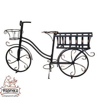 Подставка для цветов Велосипед 53-654R