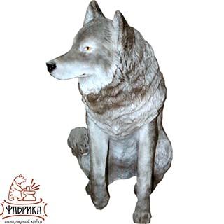 Садовая фигура из полистоуна Волк  F01001