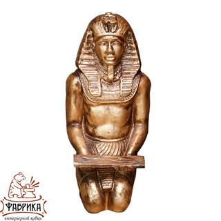 Садовый декор из полистоуна фигура Фараон F03038