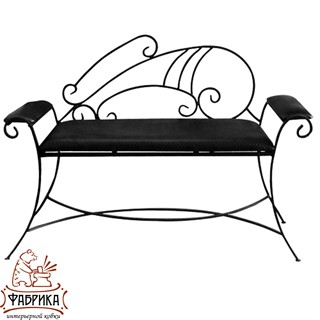 Кованая мебель для дома Диван 850-58