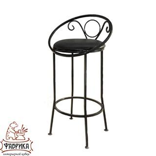 Кованая мебель для дома Стул барный 325-01