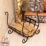 Кованая мебель для дома Дровница 500-61R