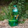 Садовое кашпо для цветов лягушка